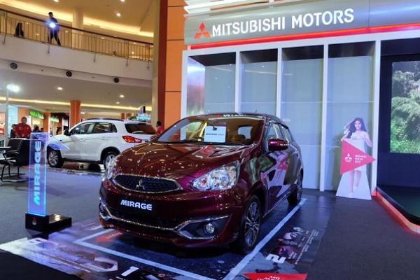 Mitsubishi Mirage menjadi salah satu andalan penjualan PT Kramayudha Tiga Berlian Motors. (Foto : KTB)
