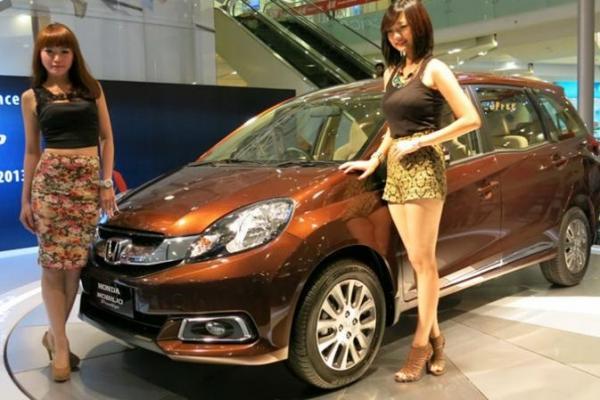 Honda Mobilio menjadi salah satu tulang punggung produksi PT Honda Prospect motor. (foto : HPM)