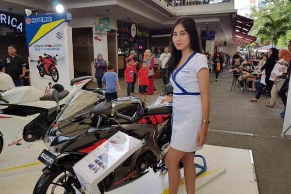 Suzuki GSX dilaunching pada beberapa kota di Indonesia. (Foto : Suzuki)