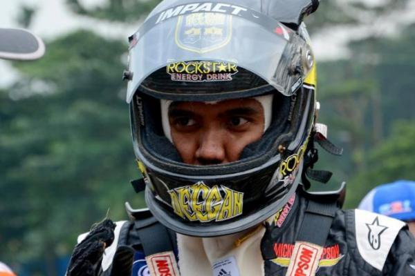 Offroader nasional Julian Johan meriahkan ajang kejurnas Gokart 2017