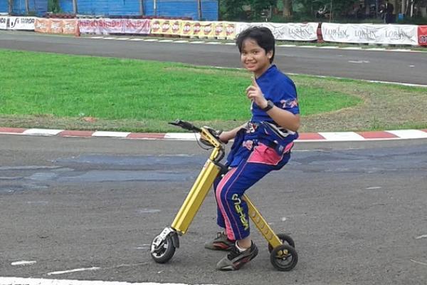 Rava Mahpud, memimpin klasemen sementara kelas Junior Rok Asia Rok Cup. (foto : budsan)