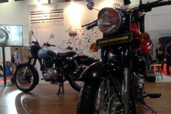 Rotal Enfield Classic 350 Redditch, motor klasik era Perang Dunia
