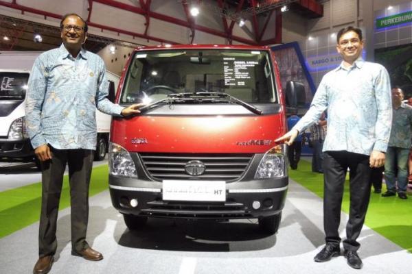 Tata Motors luncurkan Pick Up Tata Super Ace HT DLS di IIMS 2017