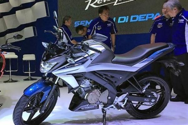 Yamaha Vixion generasi terbaru diluncurkan di ajang IIMS 2017, Kemayoran. (foto : ist)