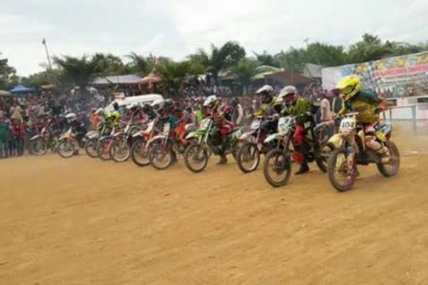 Kejurnas grasstrack akan dilangsungkan di Ketapang, Kalimantan Barat. (foto : ist)