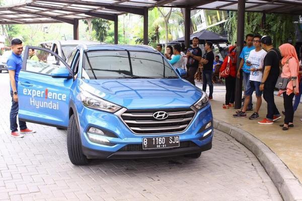 Hyundai Test Drive Challenge mengundang khalayak umum merasakan sensasi mobil Hyundai dan berbagai hadiah menarik. (foto : hyi)