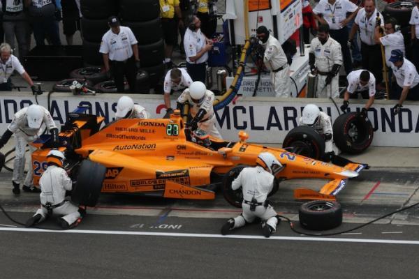 Fernando Alonso bersama tim McLaren-Honda Andretti di balapan Indy 500, Sirkuit Indianapolis (ist)