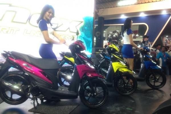 PT Suzuki Indomobil Sales (SIS) luncurkan dua skutik sekaligus di Jakarta Fair 2017