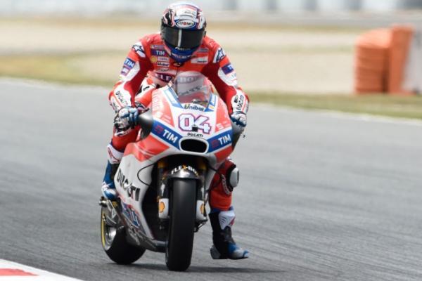 Andrea Dovizioso sebut Sirkuit Catalunya terlalu sulit baginya (ist)
