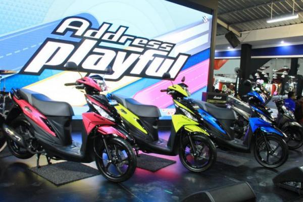 Suzuki Address Playful hadir dengan 10 pilihan warna