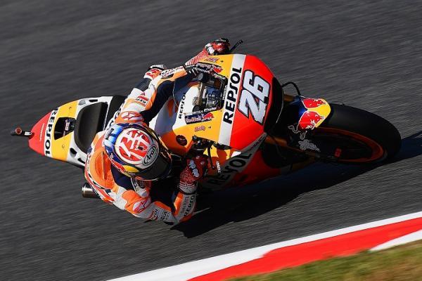 Catat waktu tercepat di kualifikasi MotoGP Catalunya, Dani Pedrosa raih pole position (ist)