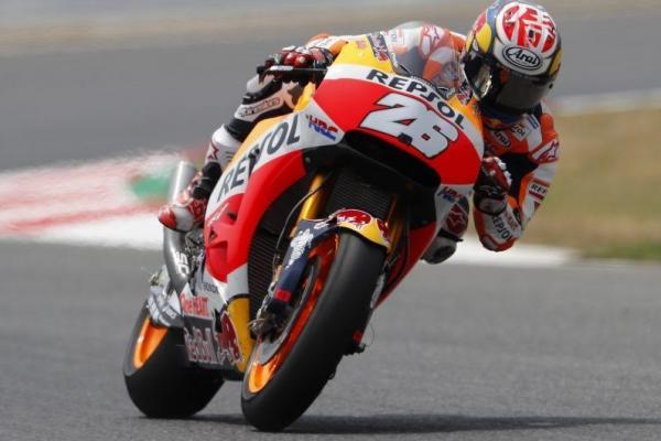 Para rider tuan rumah Spanyol diprediksi bakal  berjaya di MotoGP Catalunya. (foto : Honda)