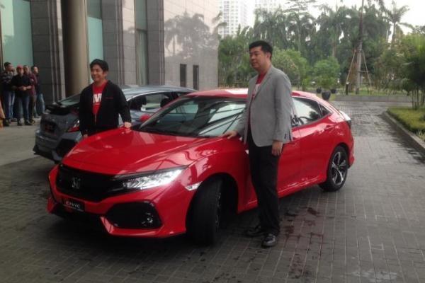 PT Honda Prospect Motor (HPM) ajak jurnalis uji langsung performa Civic Hatchback Turbo
