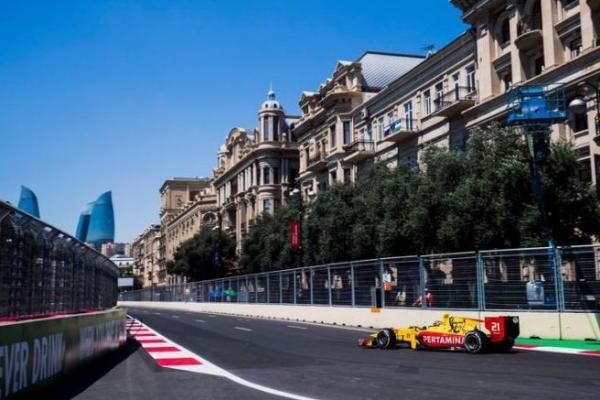 Kualifikasi Formula 2 GP Azerbaijan, Sean Gelael tempati posisi 13 (ist)