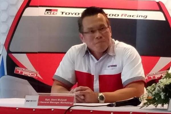 Steni Mulyadi, mendukung pembinaan motorsport di Indonesia. (foto : budsan)