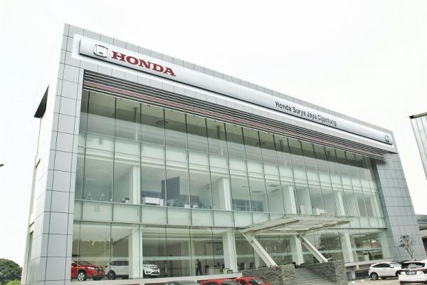 Dealer terbaru Honda Surya Jaya di Cijantung, Jakarta Timur. (Foto : HPM)