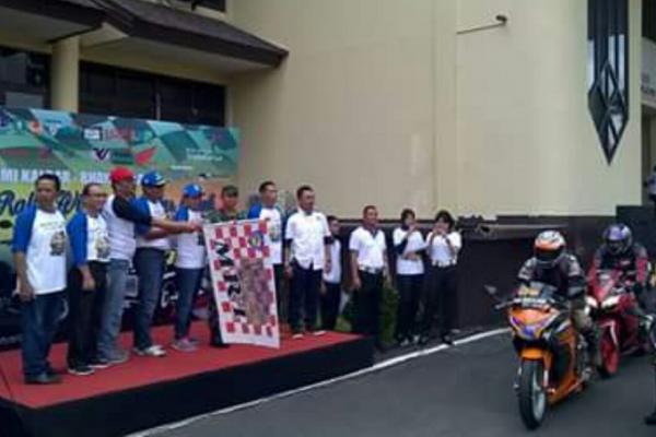 Pelepasan event time rally Aruk Border di Kalimantan Barat