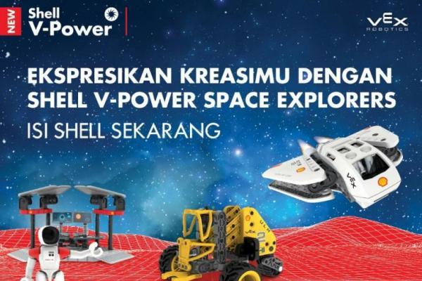 Promo Shell V-Power Space Explorers