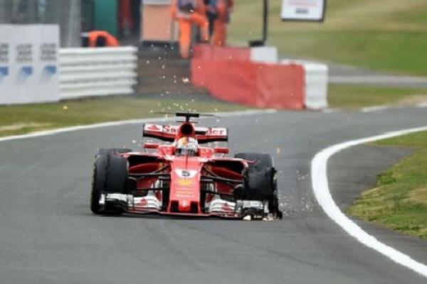 Soal insiden ban Vettel, sudah mulai terkuat penyebabnya