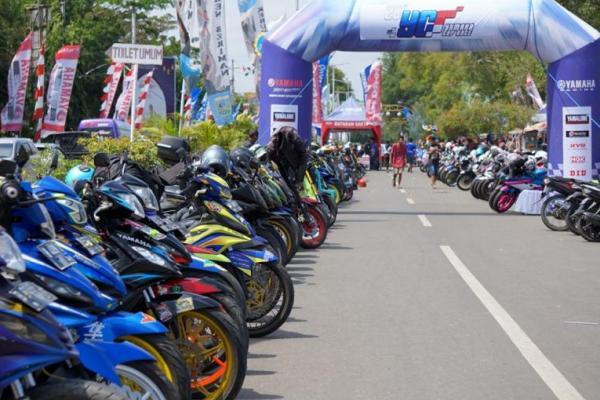 YCR Seri 1 Kebumen: Ratusan Komunitas Yamaha Berbaur dengan 15.000 Penonton