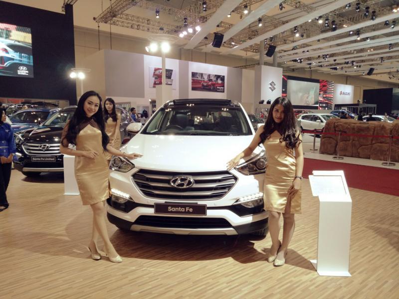 Hyundai Santa Fe, kenyamanan berkendara berkelas dunia. (foto : budsan)