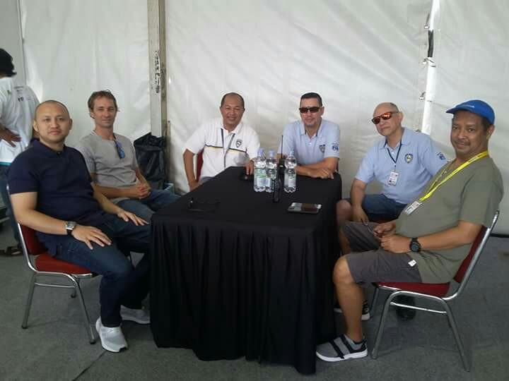 Mathias Lauda (kedua dari kiri) sudah sering datang ke Bali dan Jakarta atas undangan Ananda Mikola