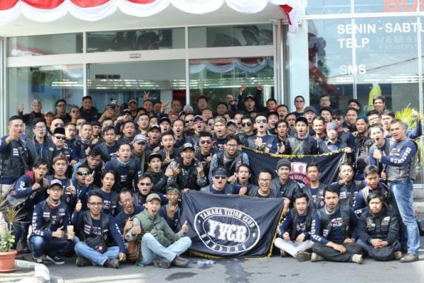 Begini Cara Yamaha Vixion Club Bandung (YVCB) Rayakan Usia Satu Dekade