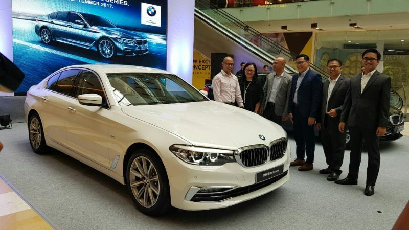 BMW Seri 5 terbaru ini diluncurkan di Grand City Mal Surabaya