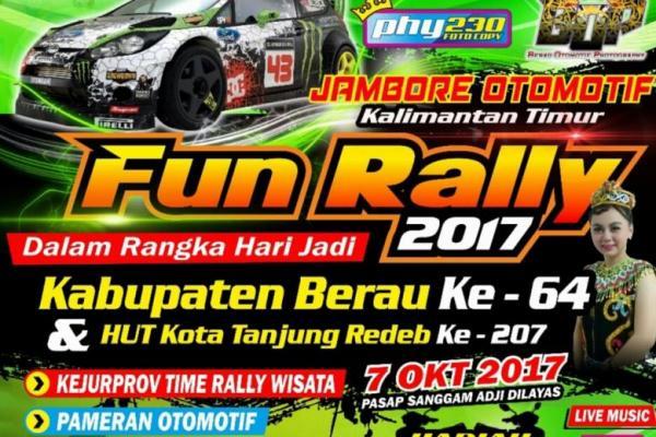 Jambore otomotif Kalimantan Timur 2017