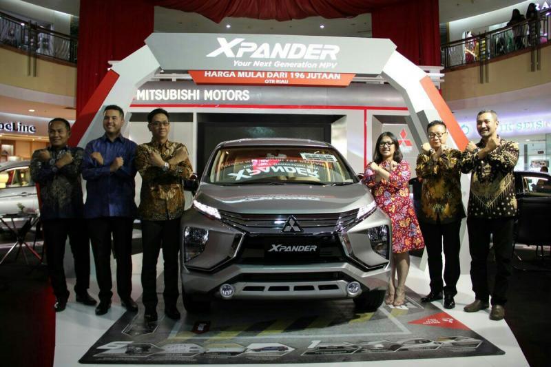 Mitsubishi Xpander merambah hingga Pekanbaru, Riau dengan acara launching