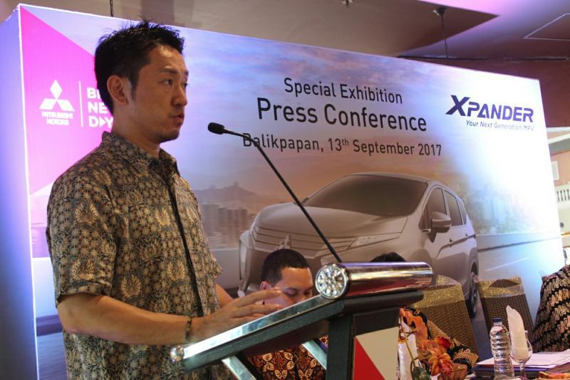 Michimasa Kono, Head of Sales and Marketing Unit MMKSI di Balikpapan
