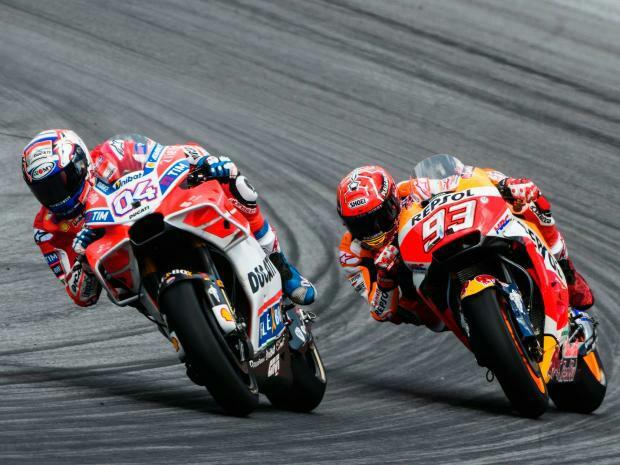 Marquez dan Dovi akan bersaing ketat untuk memuncaki klasemen MotoGP ,2017