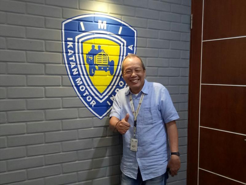 Jeffrey JP, IMI Pusat dukung pembangunan sirkuit MotoGP Jakabaring. (foto : budsan)
