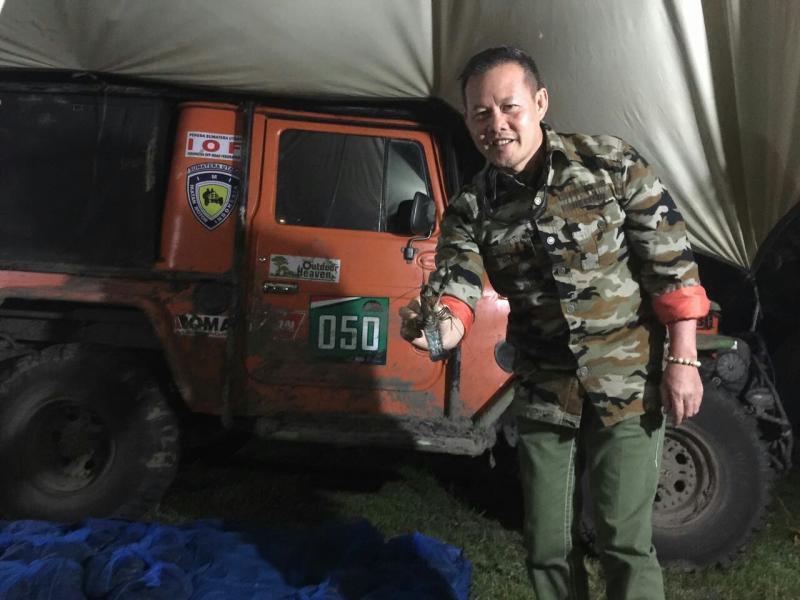 Aswari Rivai harus tidur dalam tenda di hutan selama mengikuti GIXA 2017