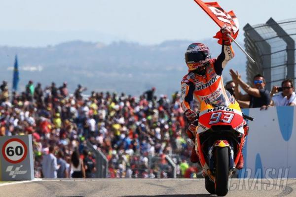 Marquez samkin kokoh di puncak klasemen sementara usai menang di seri Aragon (ist)