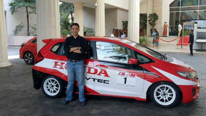 Ario Danu, anak muda potensial dari Kota Hujan Bogor. (Foto : budsan)