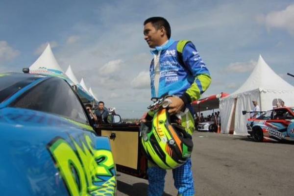 Demas Agil raih podium pertama kelas rookie di Super Drift 2017 seri 2 Yogyakarta (ist)