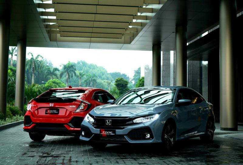 Honda Civic Hatchback menjadi salah satu andalan PT Honda Prospect Motor. (Foto : ist)