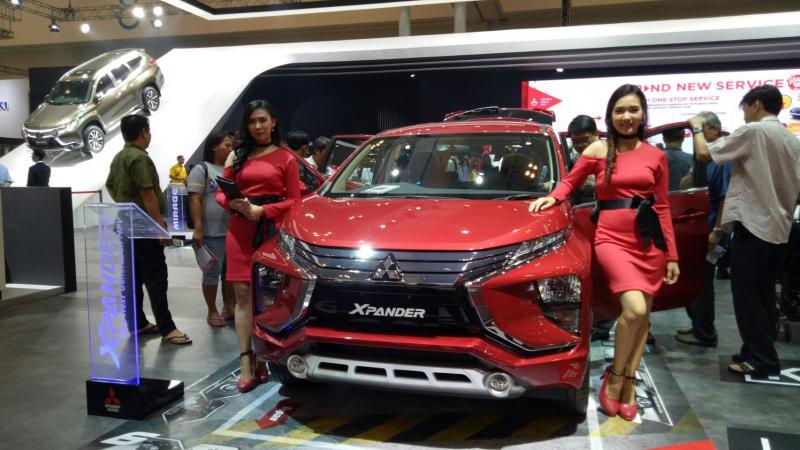 Mitsubishi Xpander diminati konsumen penggemar mobil keluarga. (Foto : budsan)