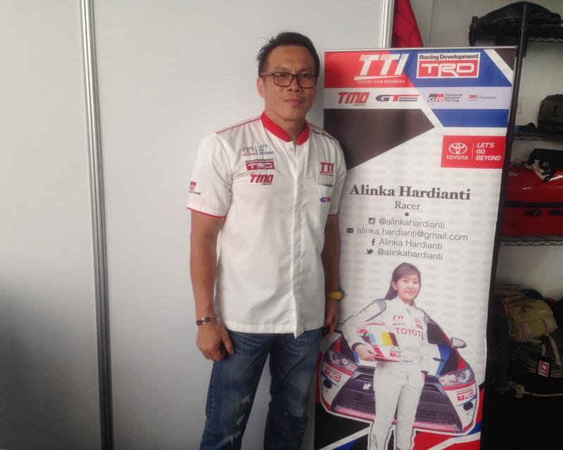 Steni Mulyadi, General Manager Marketing PT Gajah Tunggal Tbk, puas dengan pencapaian TTI di ISSOM Seri 6