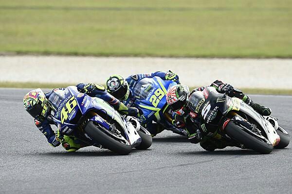 Rossi gagal juara satu di Phillip Island karena ulah Iannone?