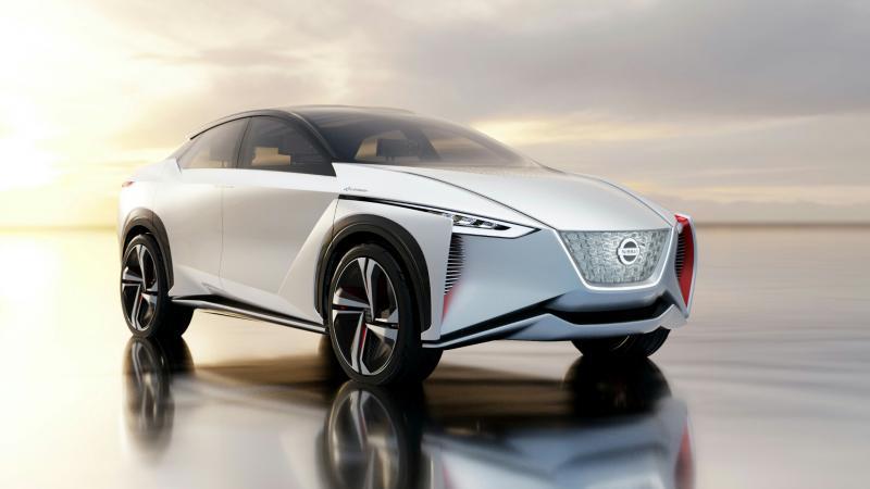 Mobil Konsep Nissan ini dipamerkan di Tokyo Motor Show 2017. (Foto : Nissan)