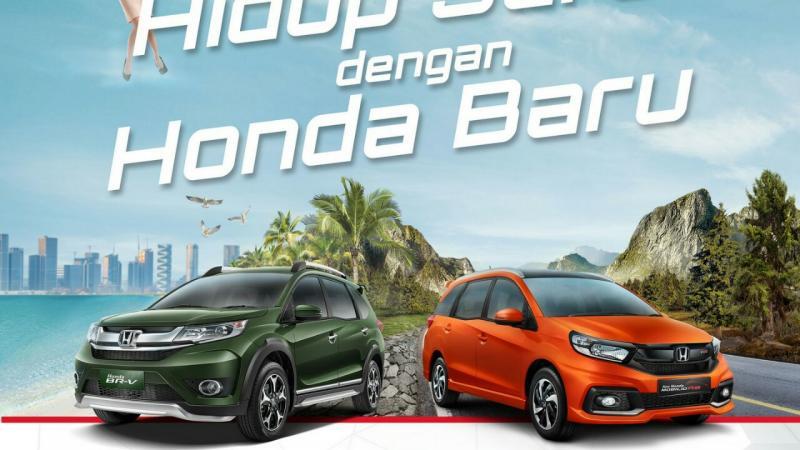 Special program Honda Mobilio dan BR-V di akhir 2017. (foto : istimewa)