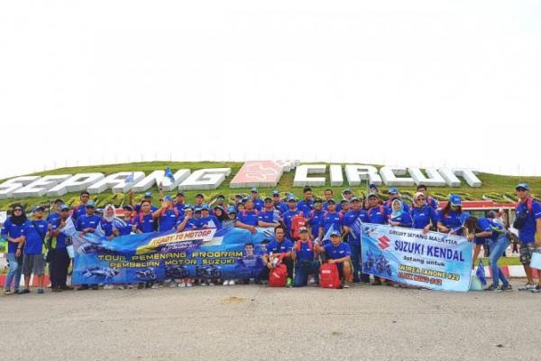 70 Konsumen Suzuki di Indonesia nonton langsung MotoGP Malaysia di Sirkuit Sepang (ist)