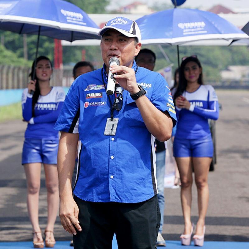 Abidin San, bos motorsport Yamaha Indonesia. (foto : YIMM)