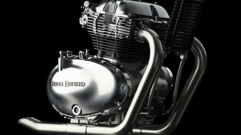 Mesin baru Royal Enfield dengan kapasitas 650cc. (foto : Royal Enfield)