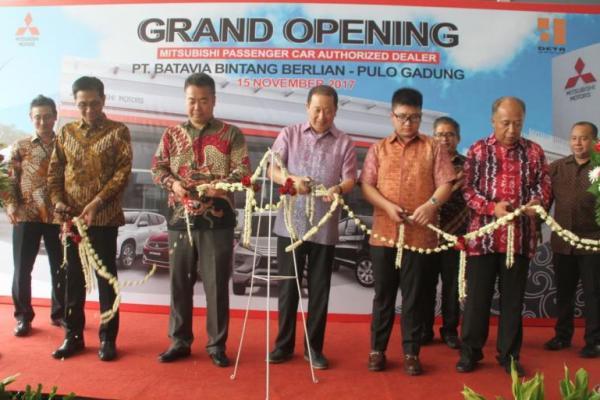 Grand Opening dealer PT Batavia Bintang Berlian di Pulogadung, Jakarta Timur