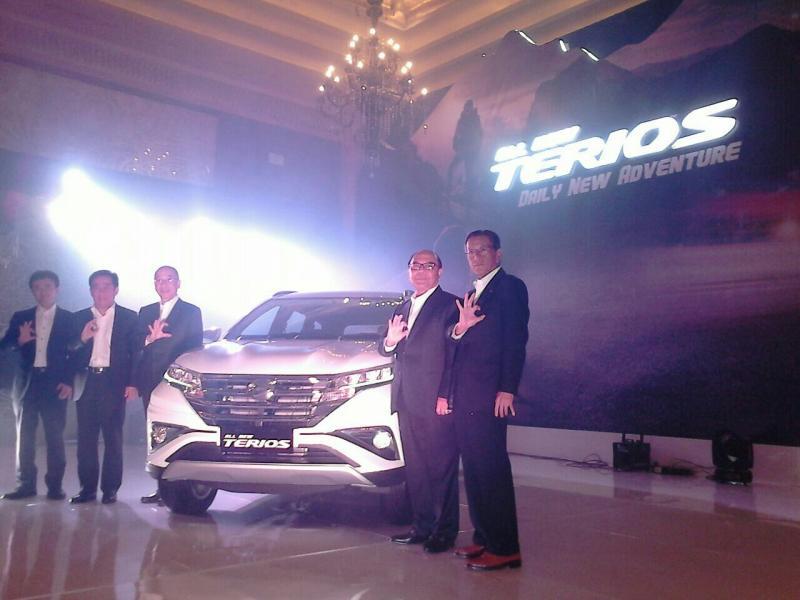 All New Daihatsu Terios saat dilaunching di Hotel Kempinski Jakarta. (foto : anto)