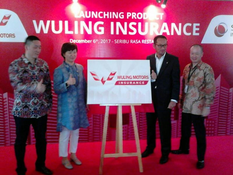 Peluncuran Wuling Asuransi di Jakarta hari ini. (foto : Anto)