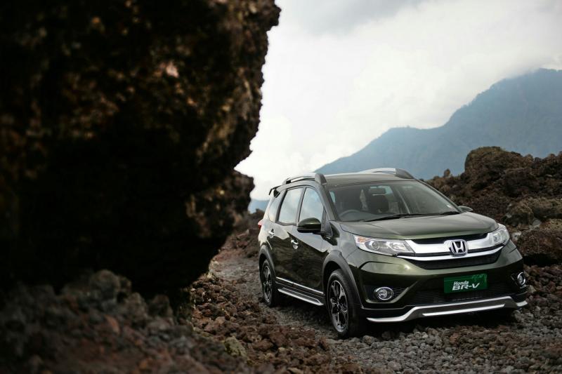 Honda BRV jadi andalan Honda Prospect Motor di low SUV. (foto : HPM)